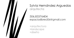 Silvia Hernandez business card