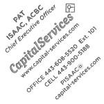 Pat Isaac Business Card